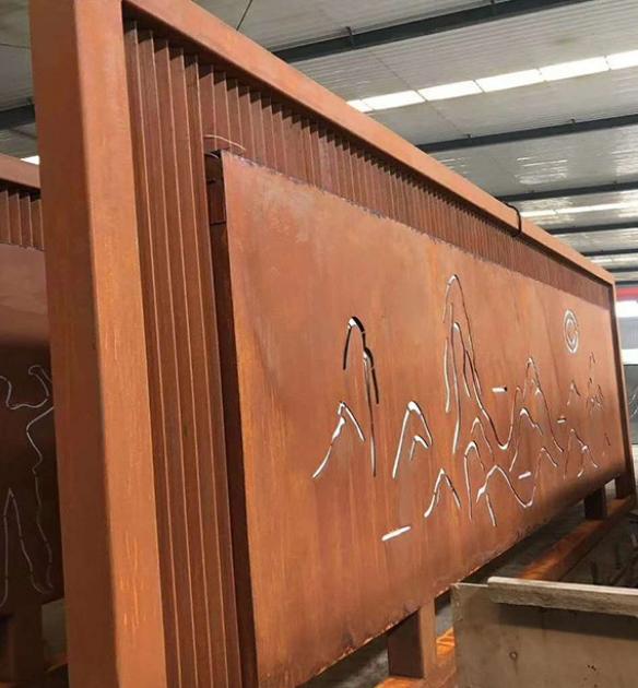 隆阳锈蚀钢板